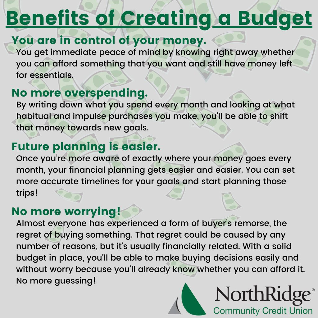 Benefits of Creating a Budget