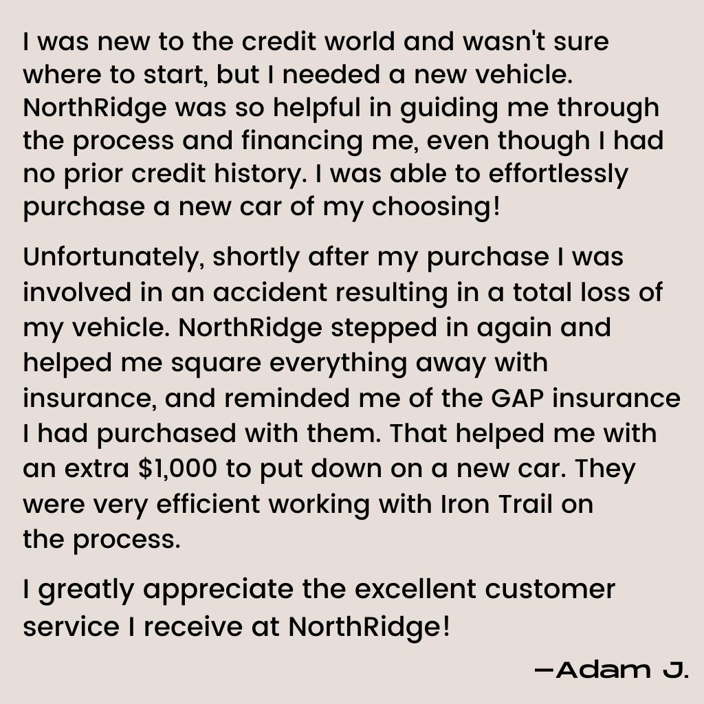 Adam's Story